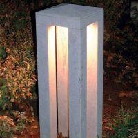 - Authentage Hardsteen Pipilier 40 landelijke tuinverlichting Authentage PIP001001